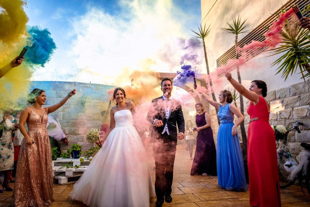 Amazing scene from a wedding day captured by Toni Bazán