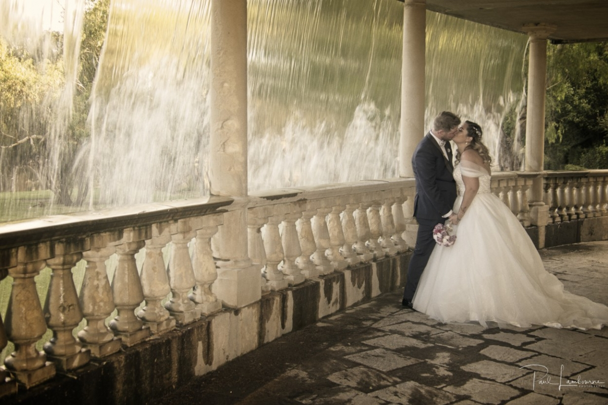 Amazing scene from a wedding day captured by Paul Lambourne