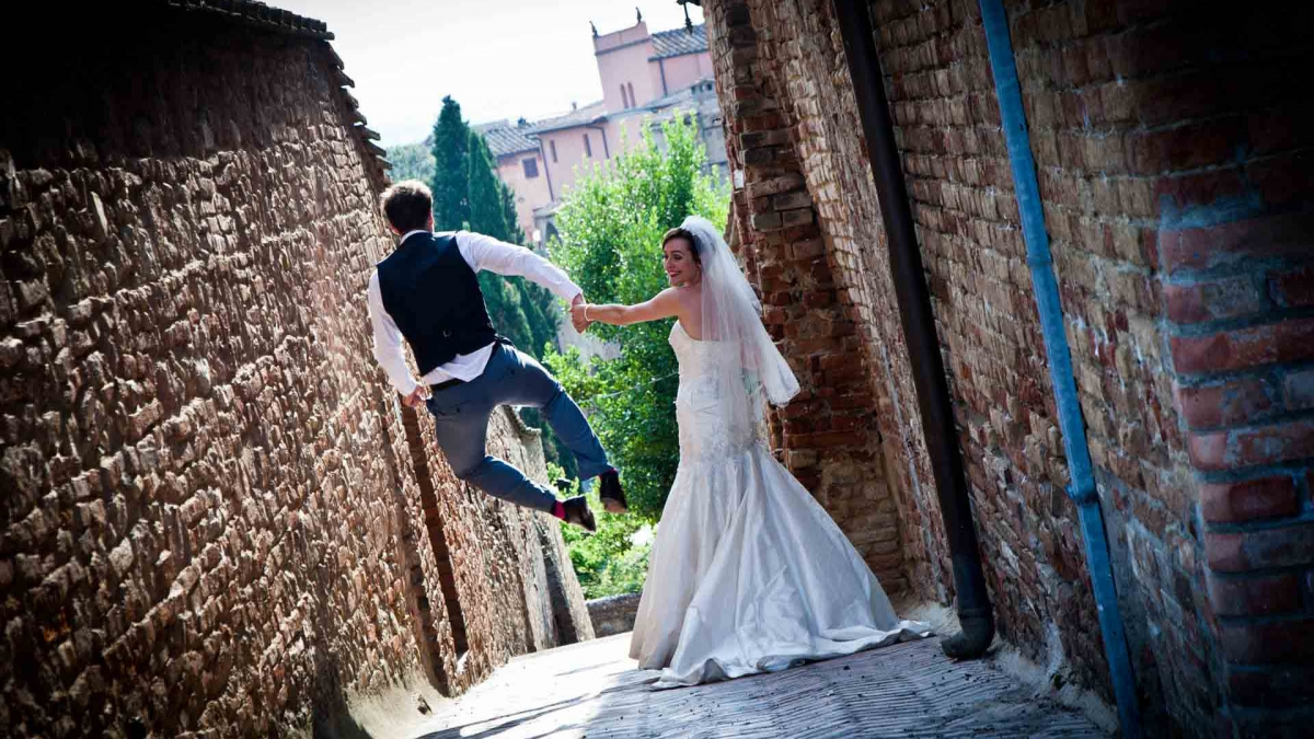 Amazing scene from a wedding day captured by Giuseppe Laiolo